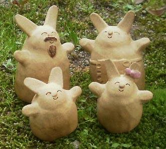ウサギの家族