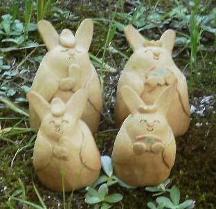ウサギのお雛様