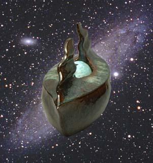 銀河を渡る船