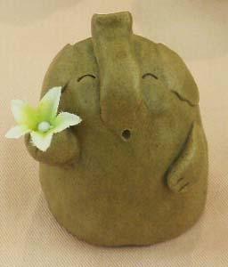 花をどー象。