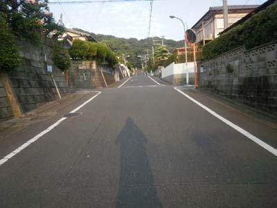 福岡市は晴天