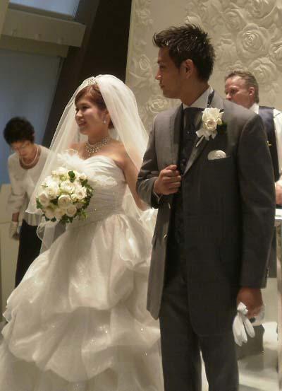 息子の結婚式