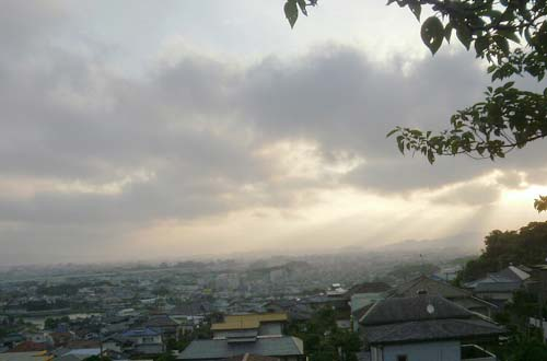 早朝の福岡市