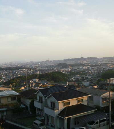 今朝の福岡市は