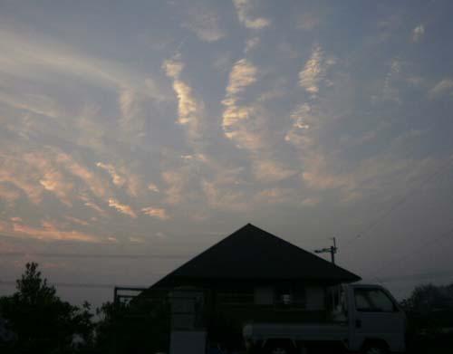 イワシ雲?