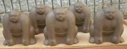 お相撲オブジェ