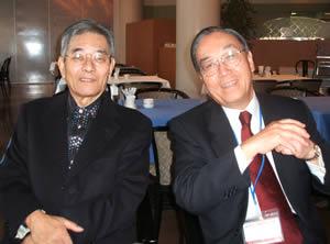 吉野父ちゃんと国松理事長