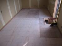 床シートの貼り方