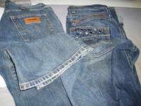 今日の洋服のお直しはジーンズです