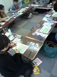 3月 パステルアート教室in広島 終了致しました!