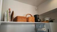収納が少ない賃貸に壁に穴を開けずに棚を作る