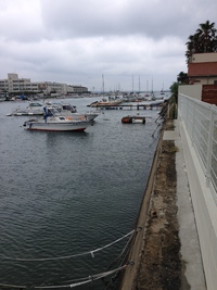 船の浮桟橋