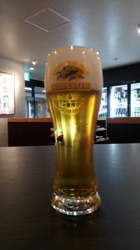 日本一旨い生ビールに挑戦します