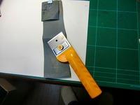 カッターの刃研ぎ