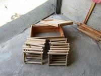 単枠巣箱 自作