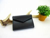 ブラック シンプルなミニ財布