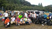 志高湖夏祭りキャンプツーリング