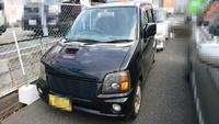 糸島市 廃車買取 ワゴンR引取ました!