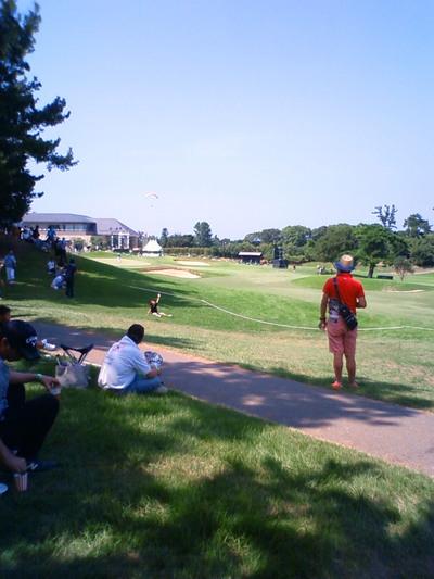 初めてのゴルフ場です。