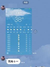 何処も暑い!