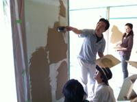 壁塗り体験会の報告〜(^○^)
