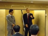 12年間、非凡を貫く人 源会長講演会