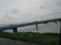 筑後川、豪雨