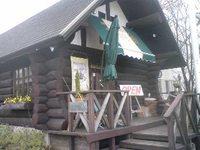 ログハウスの洋食屋さん木こり