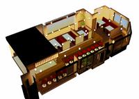 博多だるまの天ぷら定食さんイメージパース