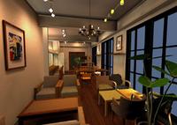カフェ『LuLuLu』イメージパース