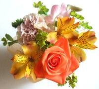 母の日の贈物にお花は?