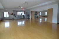 ホールの床