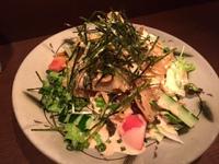 かりかりごぼうの  サラダ