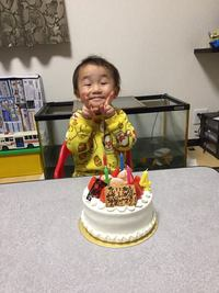 次男4歳の誕生日