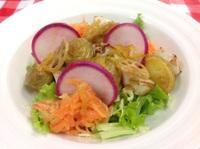 柚子風味の冬野菜サラダ