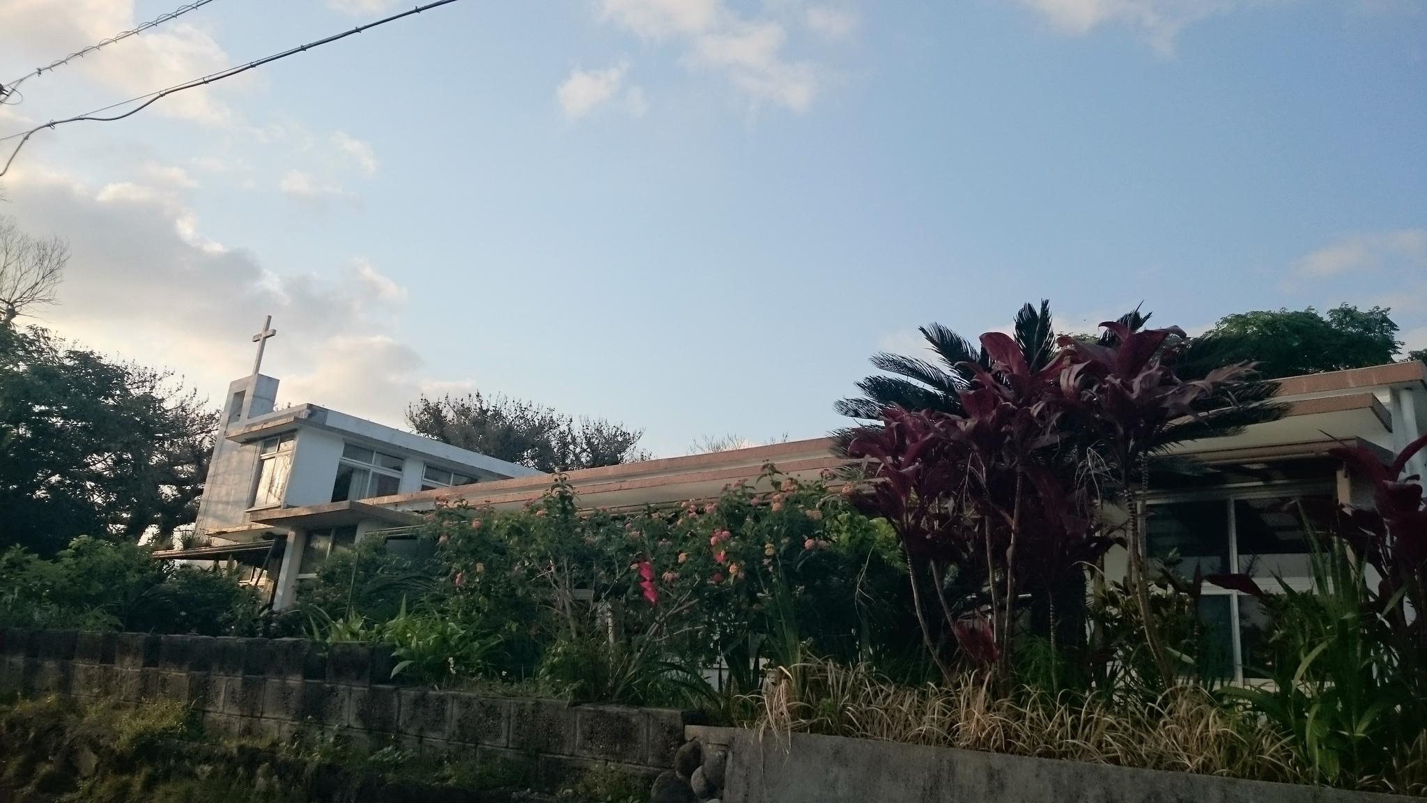 徳之島の教会