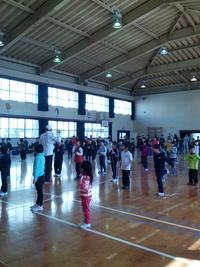 西村誠司組手テクニックセミナー 2月 親善試合
