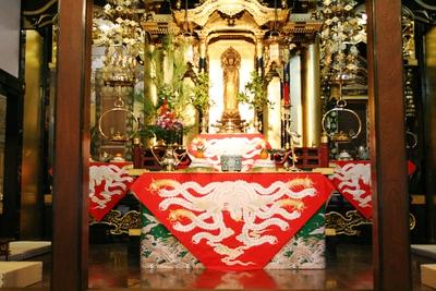 長福寺本堂(正月)