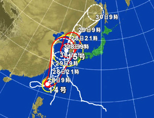 Fanatica Staff blog:また台風が...