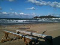 日曜日の海