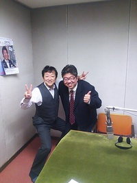 新ラジオCMの収録さ~☆岩崎弥太郎になる!