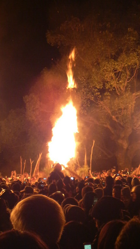鬼夜・火祭り