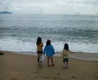 宮津の砂浜
