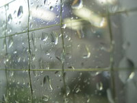 東京都港区芝浦のゲリラ雷雨