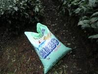 肥料散布開始!!