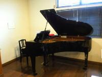 グランドピアノがやってきた!